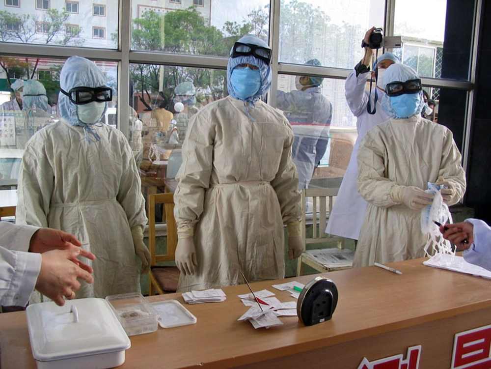 Extraordinary biohazard prevention measures were taken during the SARS epidemic, including amongst the Philippine medical community.