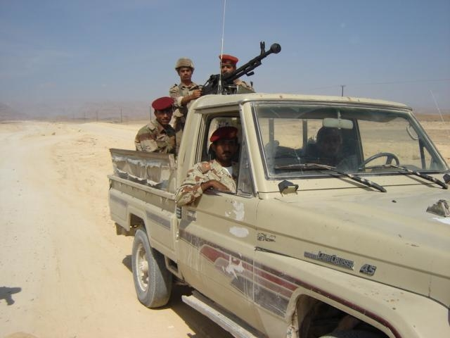 A military unit in Yemen's Saada Province.