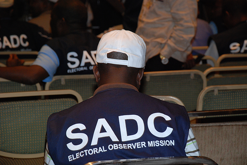 SADC observers in Zimbabwe, March 2008