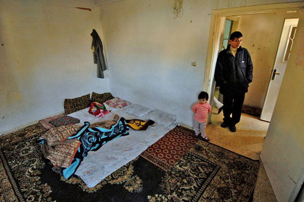 In Amman, most Iraqi refugees live in very basic and often crowded accommodation