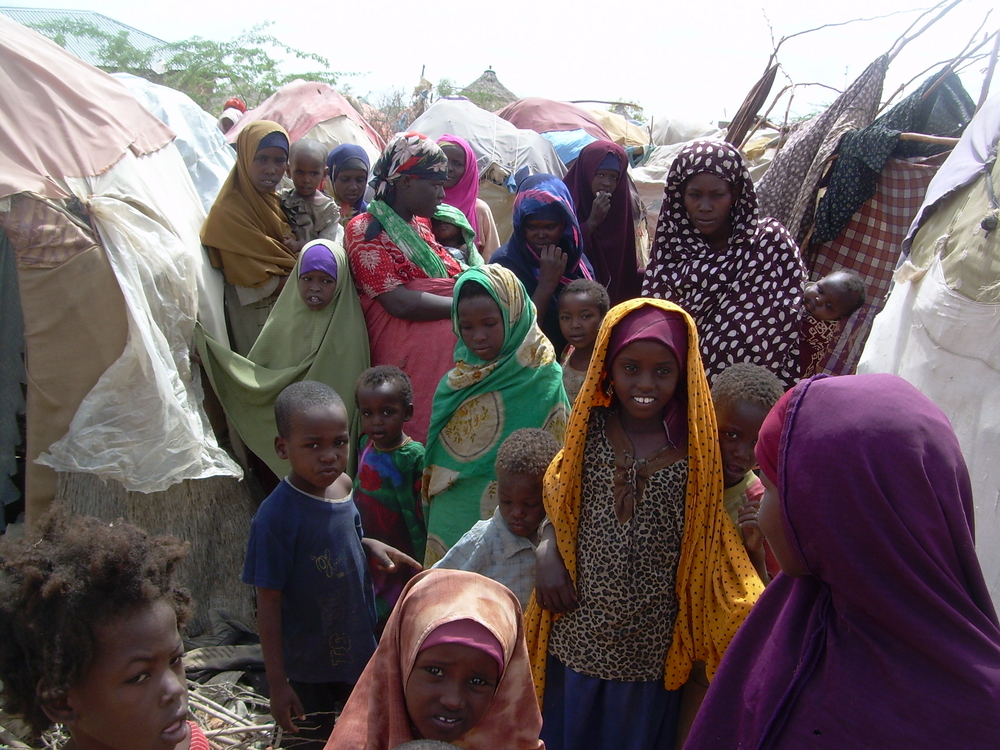 IDPs in Hiran, Southern Somalia. June 2008.