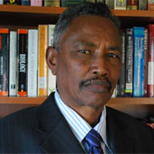 Abdirahman Mohamed Faroole, President of the self-declared autonomous region of Puntland, northeastern Somalia