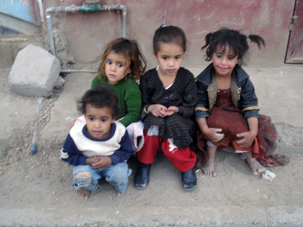 A FAO report said Yemen was among 20 countries with 80 percent of the world's stunted pre-schoolers