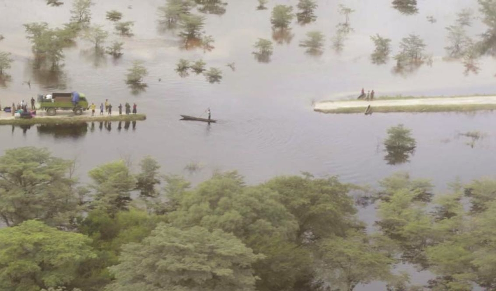 Floods have devastated crops and cut off roads in Zambia