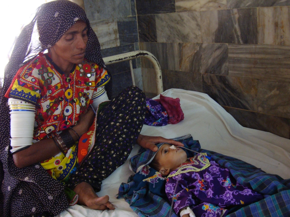 Malnutrition - combined with diarrhoea, pneumonia and tuberculosis (TB) - is the biggest cause of child mortality in Tharparkar District