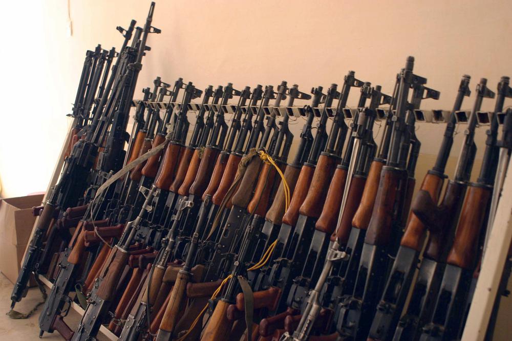 The New Humanitarian | Homemade gun sales flourish