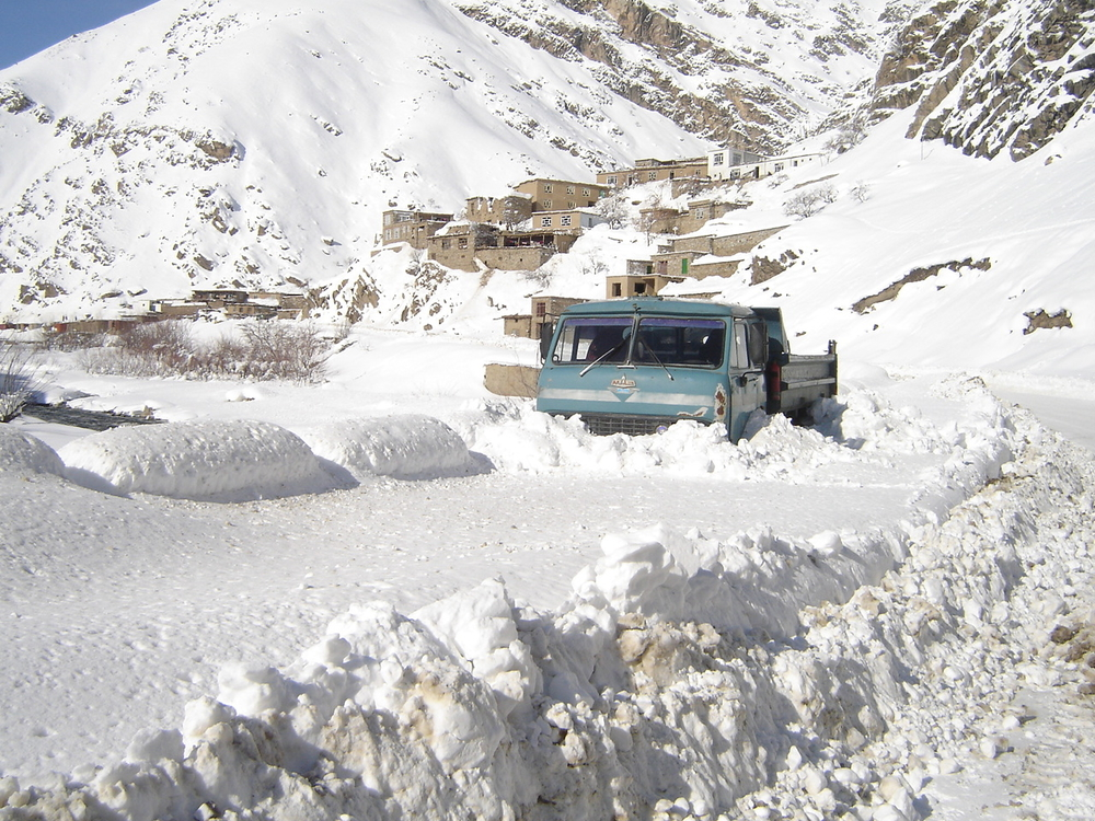 Snow, floods and mudslides block roads to many communities in different parts of Afghanistan