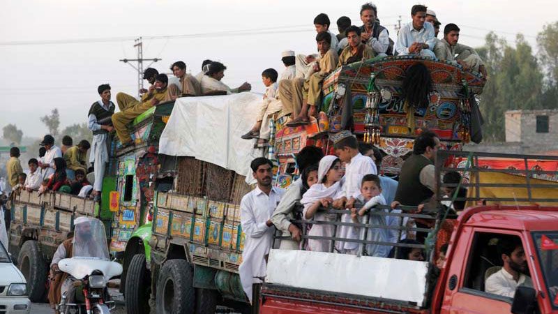 Some IDPs fleeing Orakzai Agency near the Pakistan-Afghan border have special reason to be fearful