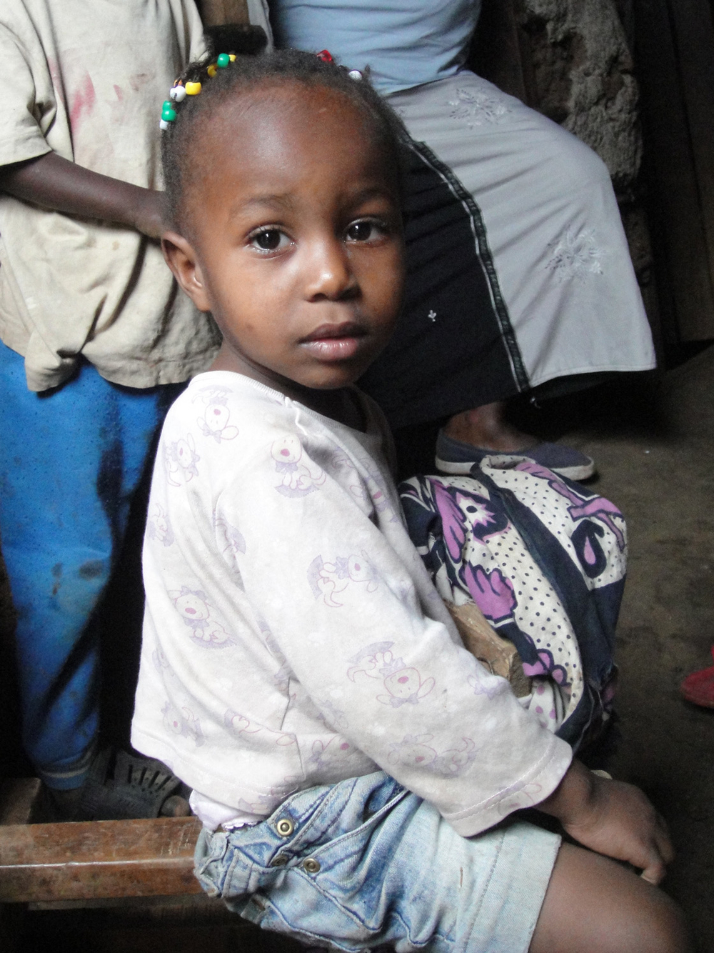 Every day in Kenya 86 children die because of diarrhoea