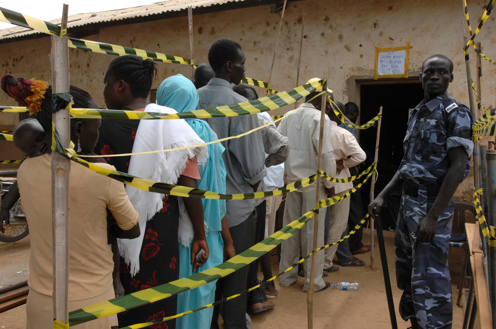 Voting begins on the first day of polling in Sudan's first multi-party elections for 24 years.  Voting is scheduled to last for three days from 11-13 April.  Voters will choose their national and regional presidents, governors and legislative representati