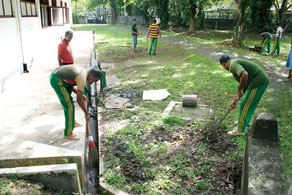 A special police task force has been deployed to clear potential dengue breeding grounds in Colombo. The third week of August (2010) has been declared Dengue Prevention Week