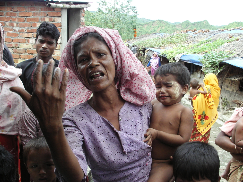 Shira Banu, 50, from Buthidaung, North Rakhine State wants to go home if the Burmese government lift the restrictions and if the UNHCR comes with them