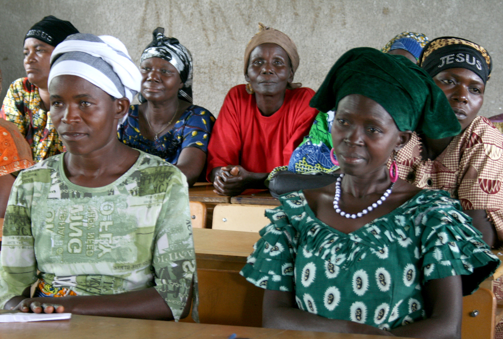 Women leaders in Mutimbuzi commune, Bujumbura-Rurale Province in Burundi