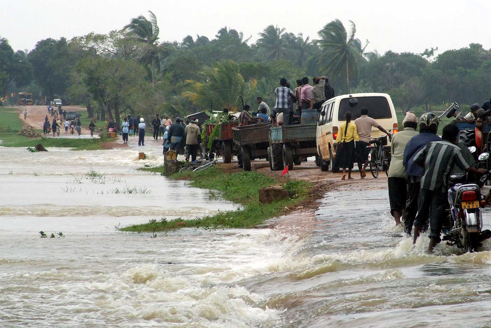 Monsoon floods in Sri Lanka