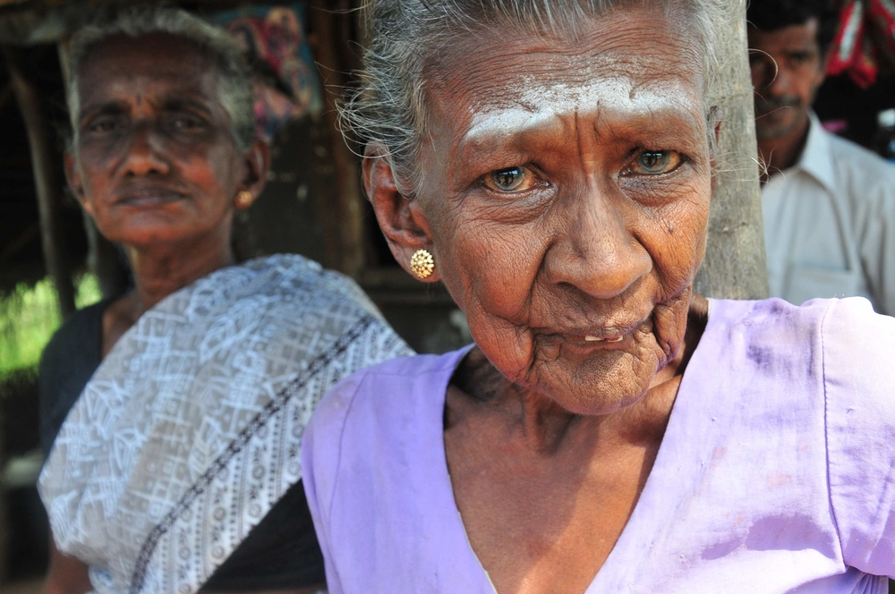 Thousands of elderly have returned to Sri Lanka's conflicted north