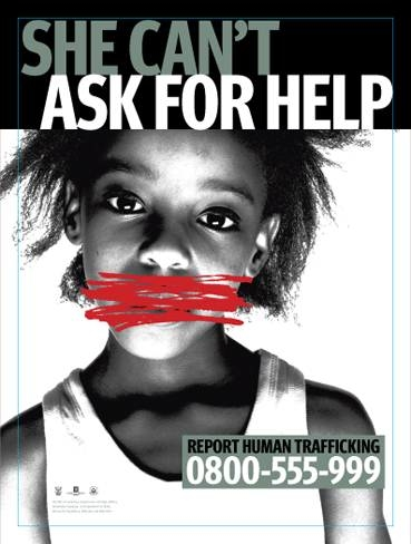 Several campaigns to raise awareness about human trafficking rolled out ahead of the 2010 FIFA World Cup
