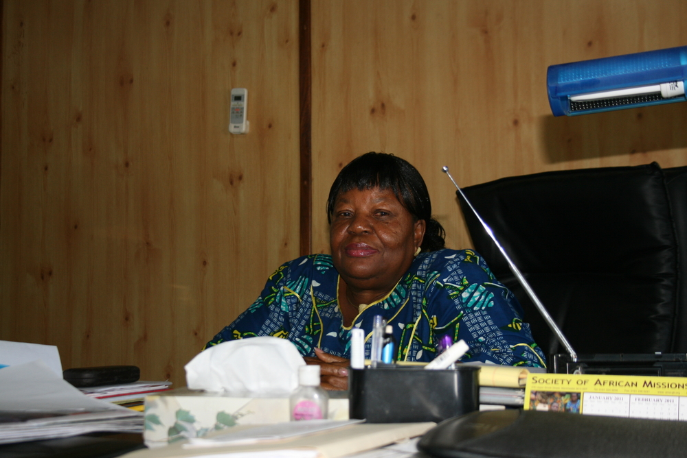 Attorney Frances Johnson-Allison, executive chair of the Liberia Anti-Corruption Commission