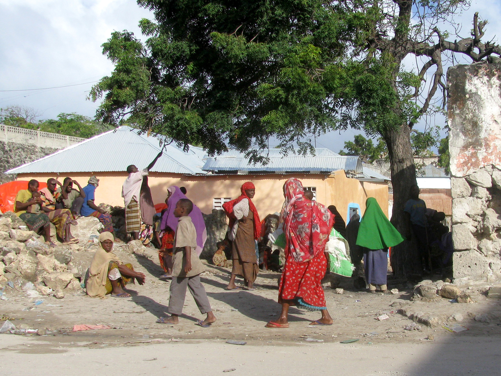 IDPs in Waberi District, Mogadishu