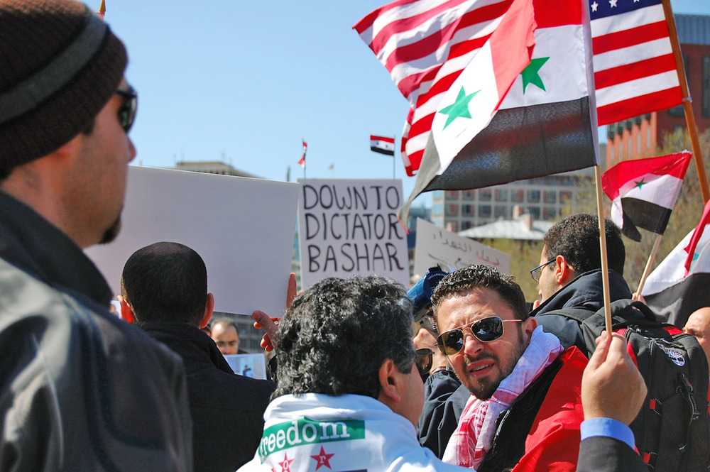 Syria Protesters. For generic use