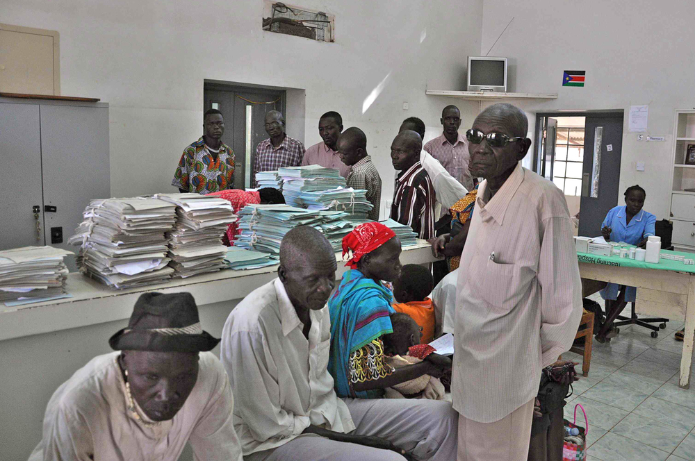 South Sudan's only eye unit, in Juba Teaching Hospital