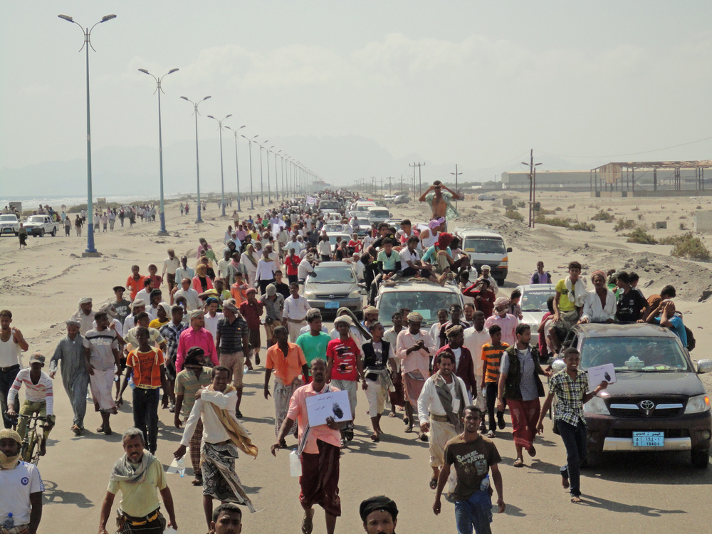 Mass exodus from Abyan to Aden