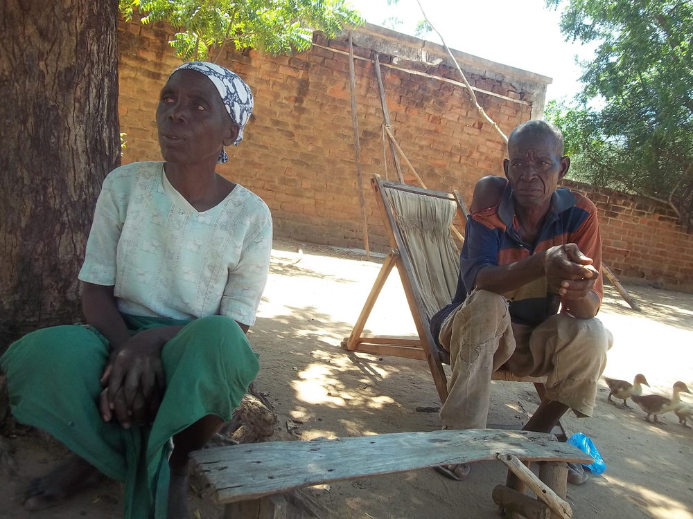 Dorothy Dyton and her husband, Dyton Gerard were among about 2,000 smallholder farmers who relied on a tract of communal land in Malawi's southern Chikhwawa District to grow food for their family until the land was sold for sugar cane production in 2010