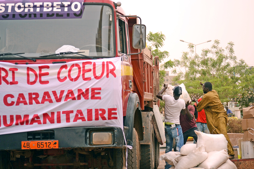 Local group Cri de Coeur sends an aid convoy to northern Mali