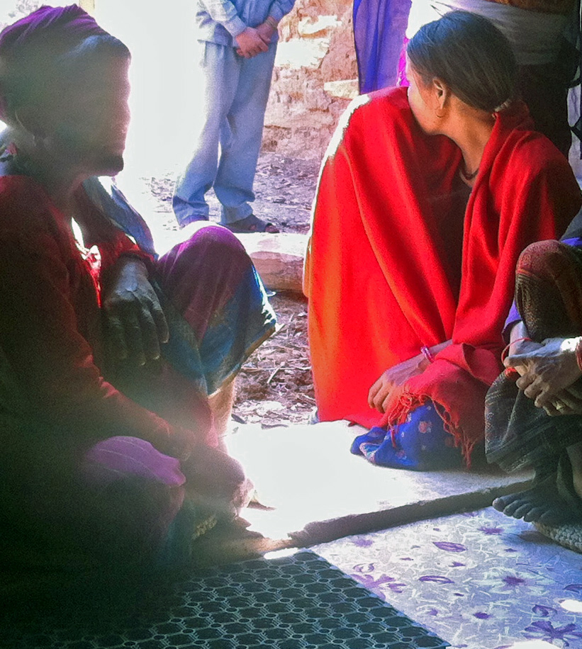 A young widow with HIV in Nepal's western Dailekh District. Assistance for these women remains limited