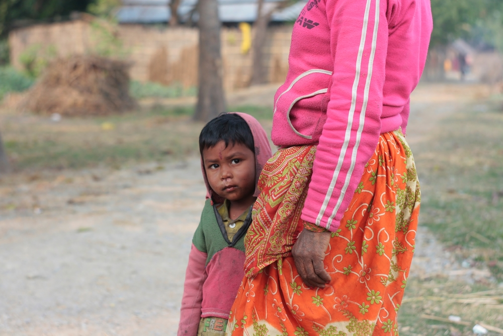 Children whose mothers cannot prove the father's identity struggle to access citizenship documents. Morang District, Nepal