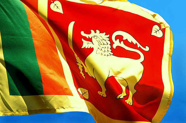 Sri Lanka flag. For generic use