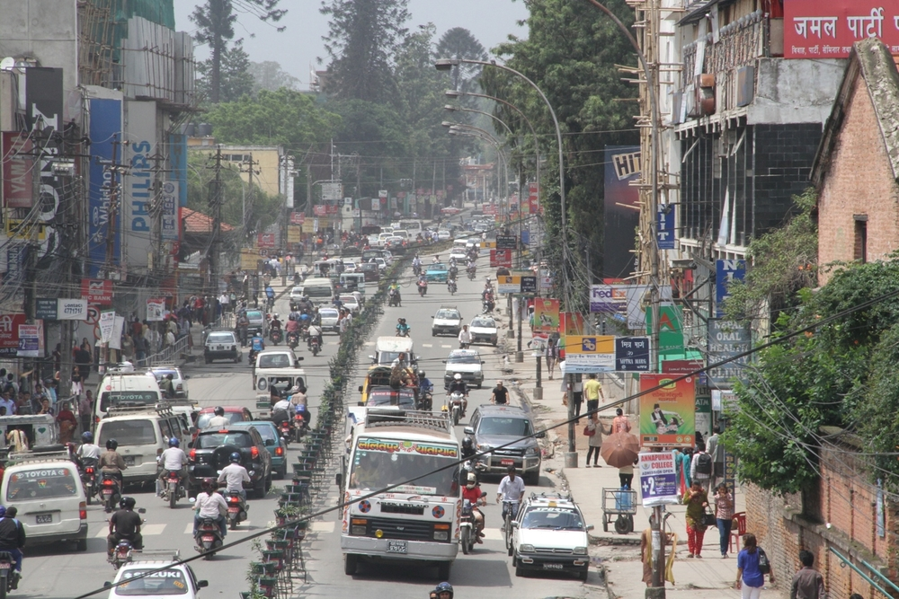 Road accidents in Nepal's capital are exacting a toll as deadly as the country's decade-long civil war