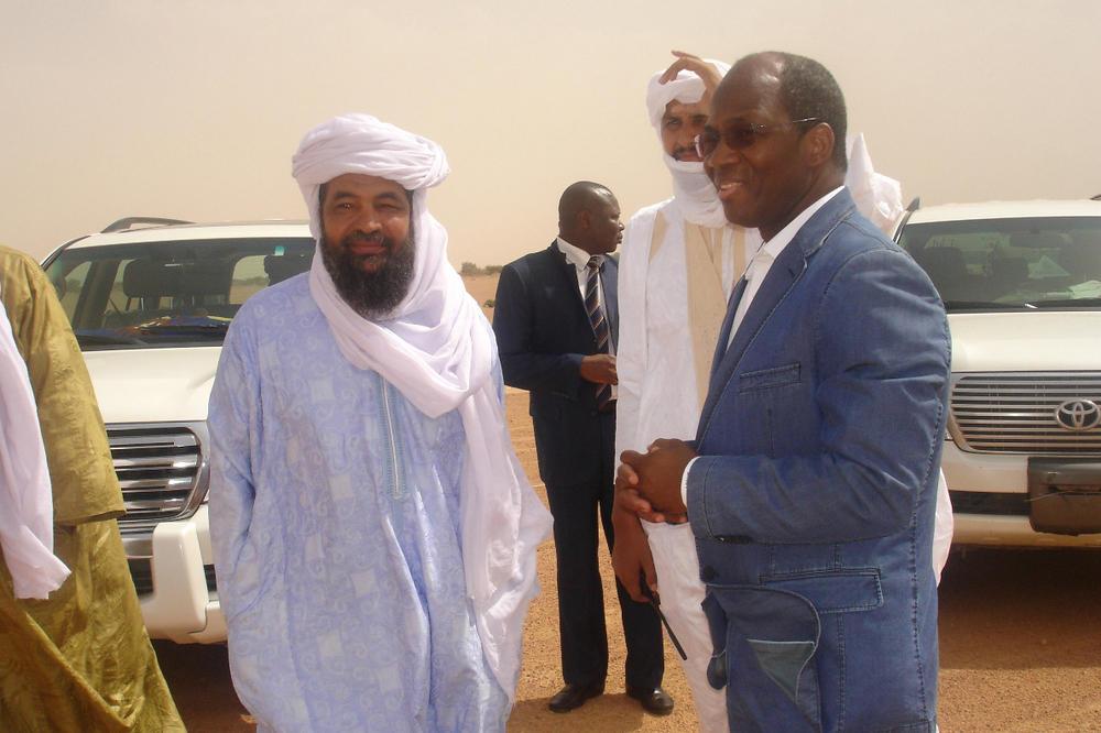 Iyag Ag Ghali, head of Islamist Group Ansar Dine in northern Mali, is willing to negotiate with the Malian government and foreign powers but is adamant about imposing Sharia law on the north.