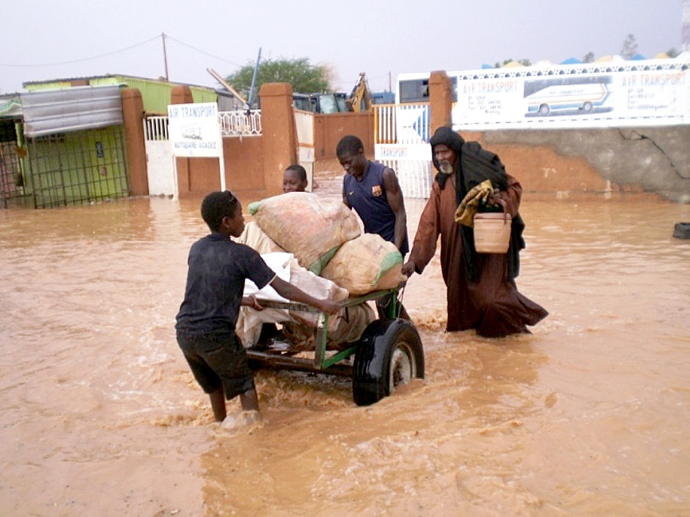Flooding has displaced half a million Nigeriens this year