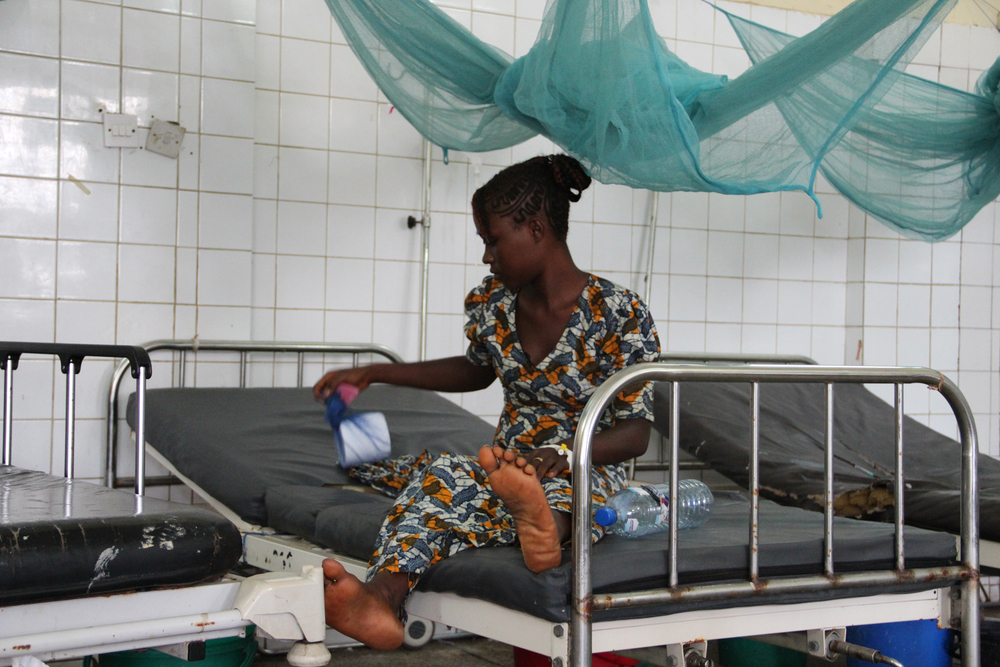 Only one patient was in the cholera ward of Freetown's Connaught Hospital on 3 October 2012. Aid groups and the government rallied to combat Sierra Leone's worst cholera epidemic in 15 years