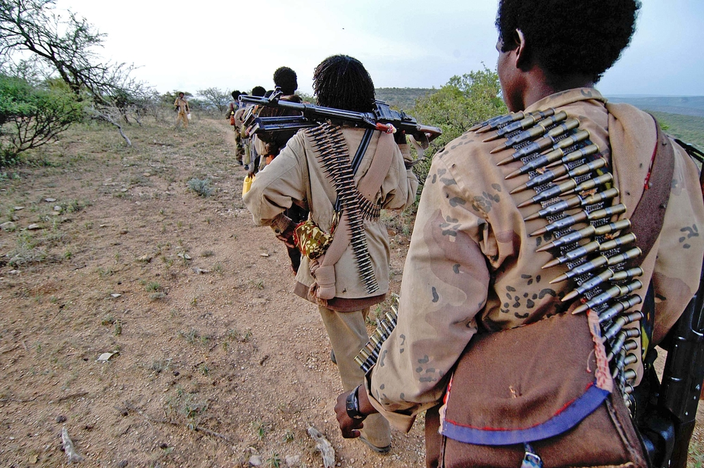 ONLF rebels. For generic use