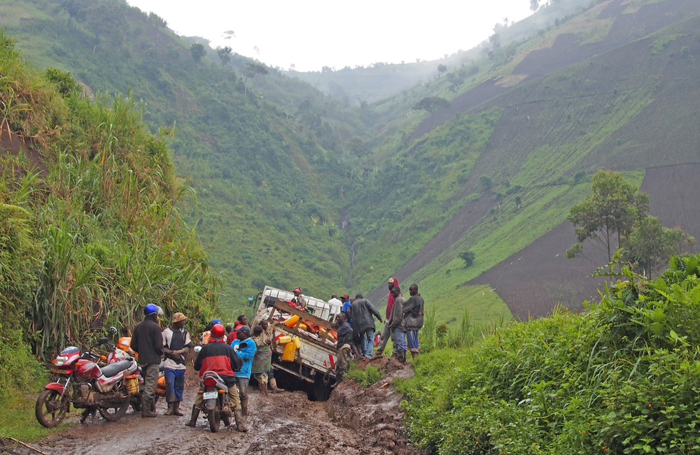 Impassable roads - another obstacle to viable livelihoods