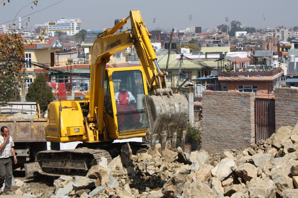 A major road expansion effort launched in 2012 in Kathmandu has left hundreds of more buildings at risk of collapse in the event of an earthquake, experts say