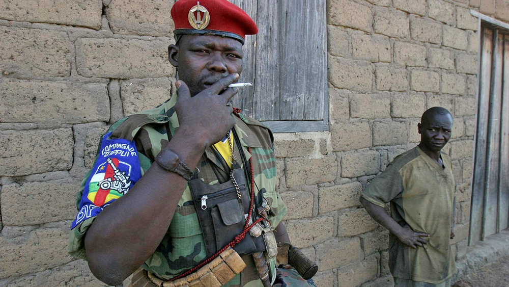 Armed man, Birao, Central African Republic (file photo)