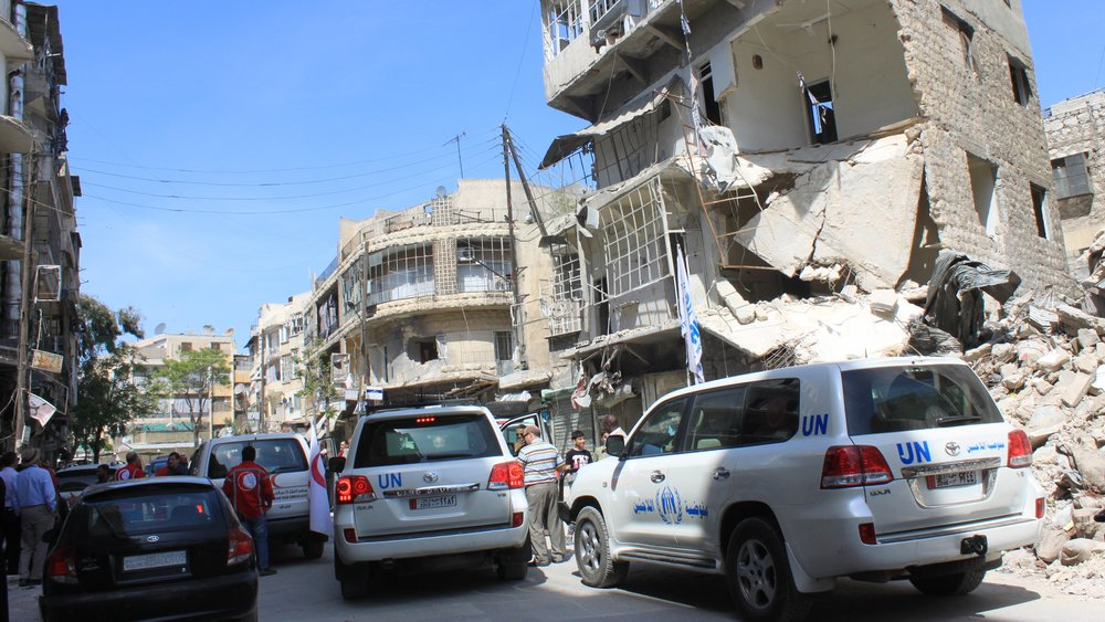 Insecurity creates serious concerns for delivering humanitarian aid in Syria