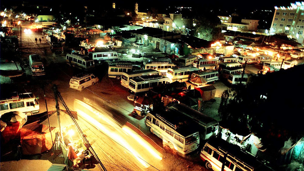 Night in Hargeisa, Somaliland. For generic use