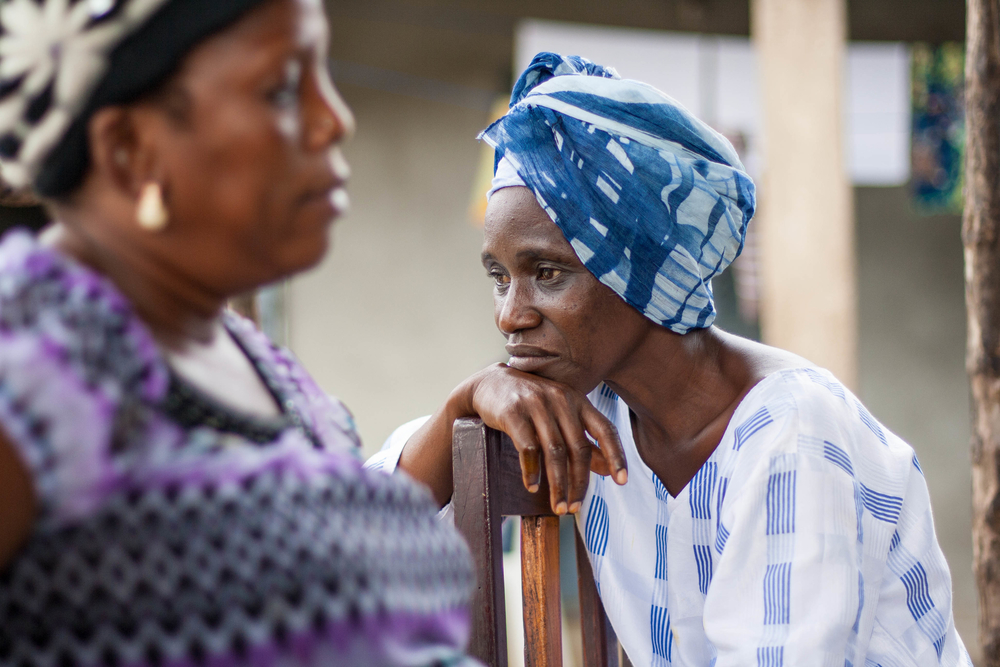 Women survivors of the 2009 stadium massacre in Guinea have formed soap-making and fabric-dyeing cooperatives in an effort to rebuild their lives after losing everything