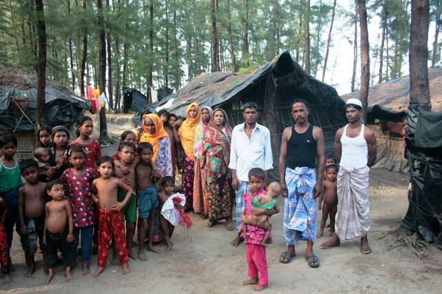 The majority of Rohingya in Bangladesh live in informal settlements, slums, or communities, with limited or no assistance. According to UNHCR, there are more than 200,000 undocumented Rohingya refugees in the country