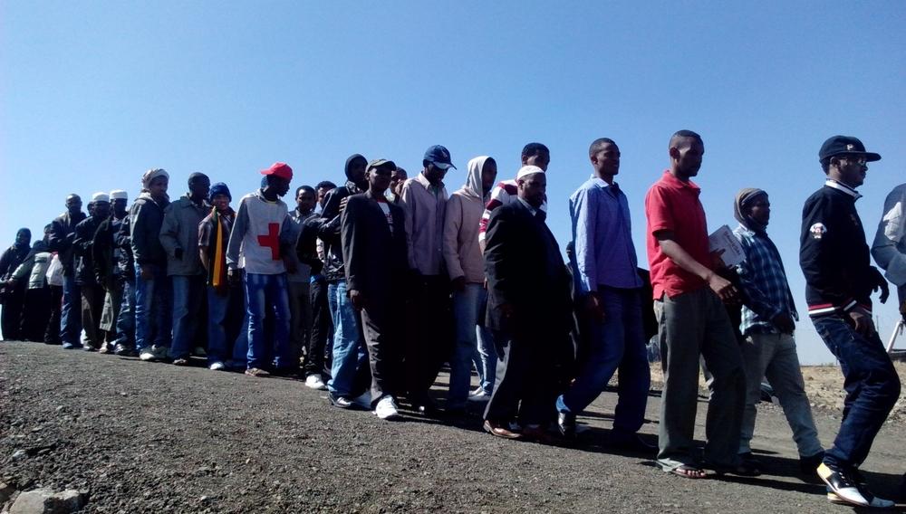 The New Humanitarian | Deported from Saudi Arabia, Ethiopian