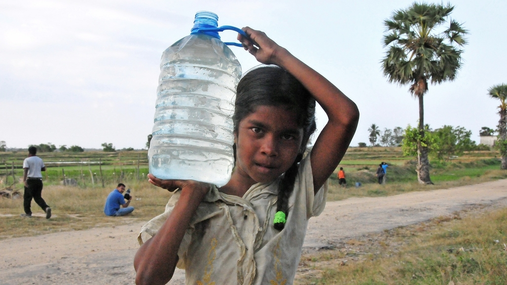 Lack of safe drinking water is already a major concern in some parts of Sri Lanka's dry zone