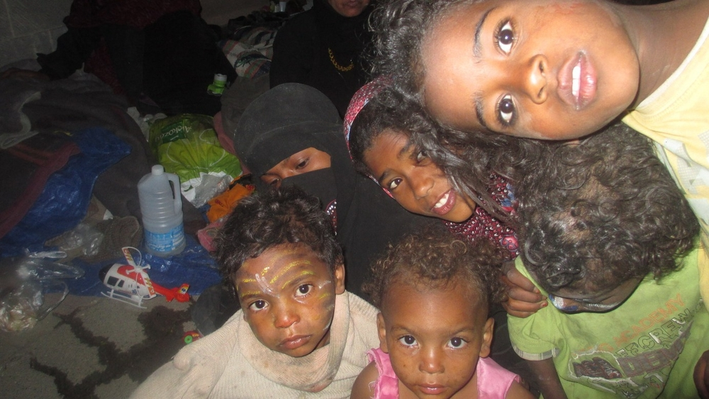 Members of the Muhamasheen community in Yemen are among over 35,000 displaced following fighting in the city of Amran. The Muhamasheen community have long complained of discrimination against their dark skin