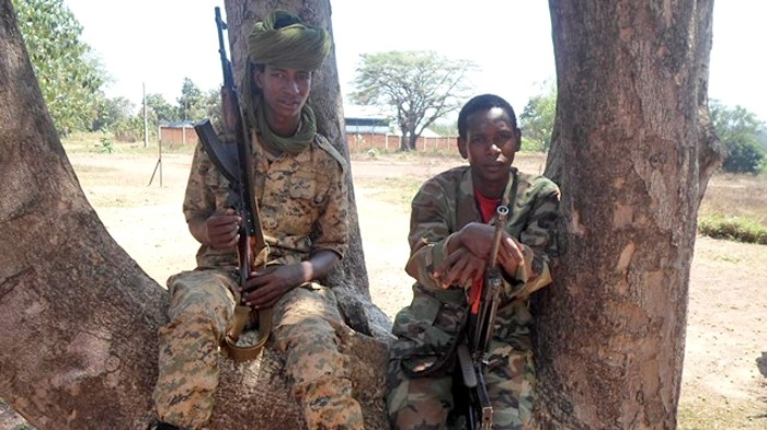 November 2013, Bossangoa – Seleka fighters