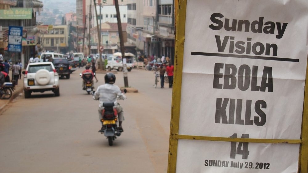 The headline of the Sunday paper in the nations capital highlights the nationwide concern of the outbreak. (file photo)