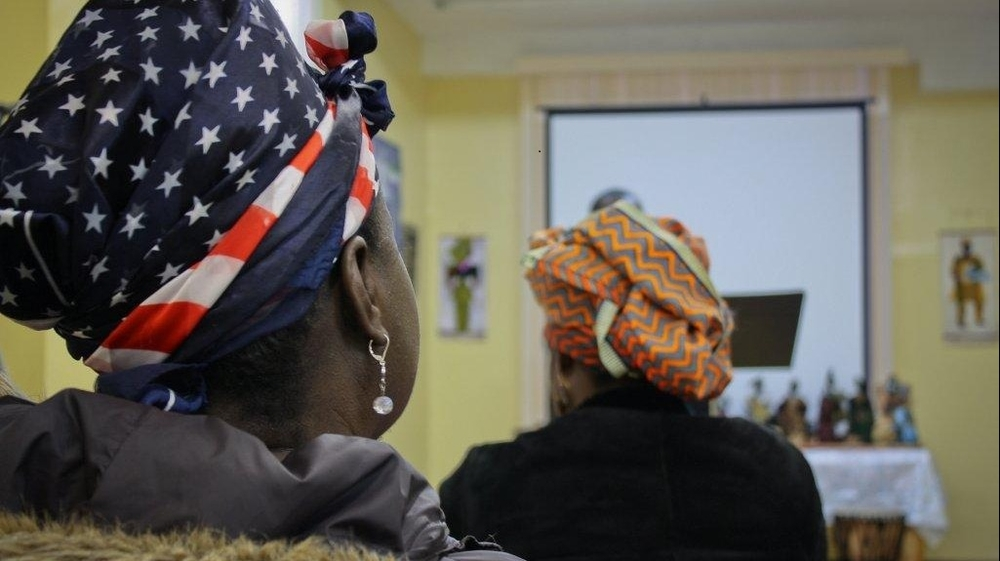 Liberian migrants in the US