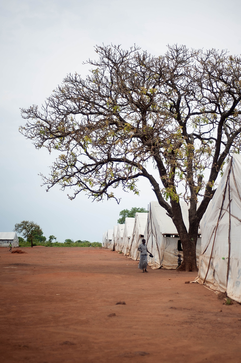 Nymanzi transit camp in Uganda for South Sudanese refugees