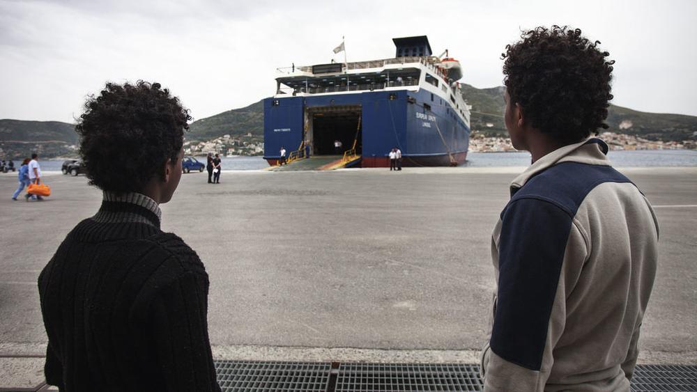 The New Humanitarian | The Eritrean children who cross